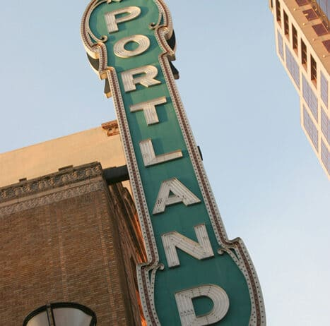 Portland-Sign